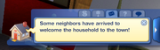 Welcome wagon notification TS3