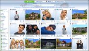 Galerie Les Sims 4 nouvelle version 2