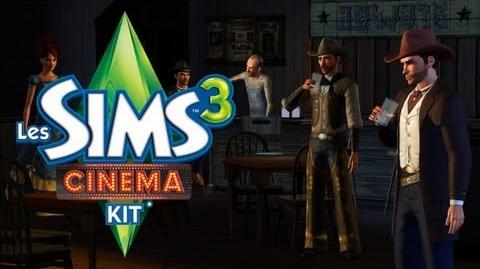 Les Sims™3 Cinema - Kit d'objets