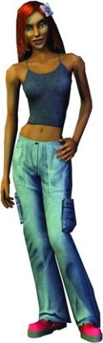 Nina Caliente (The Sims 2 Console)