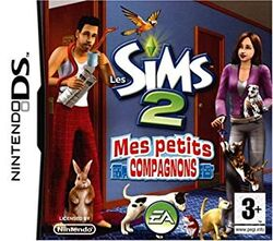 Packshot Les Sims 2 Mes petits compagnons