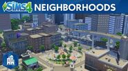 The Sims 4 City Living Official Neighborhoods Trailer