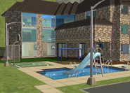 Amar's Hangout pool and park 1