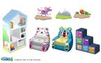 Les Sims 4 Bambins Concept art Kim Truong 1