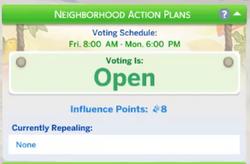 Neighborhood Action Plan Panel