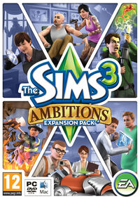 The Sims 3 Ambitions Cover 2