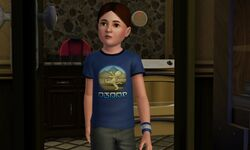 Blair Hall child