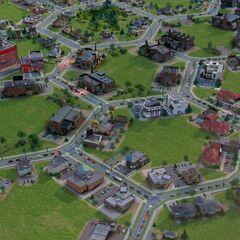 Ciudad en forma de Colmena