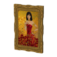 Femme dorée de la prospérité