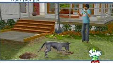 Los Sims 2 Mascotas Wii Tráiler