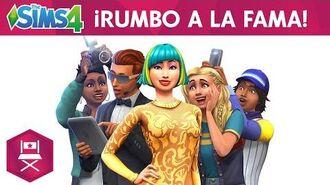Los Sims 4 ¡Rumbo a la Fama! tráiler de presentación oficial