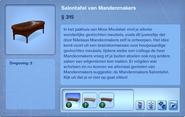 Voorwerp Salontafel van Mandenmakers