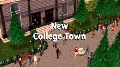 The Sims 2 Университет - видеоролик