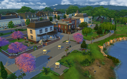 Willow Creek Commercial District - Rear View