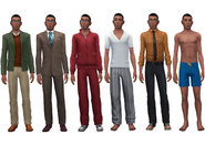 Gavin Richards wardrobe