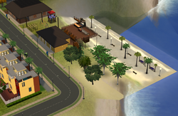 SimVille Beaches - neighbourhood view