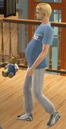 Sim en pleine grossesse