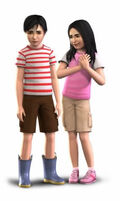 Bella and Mortimer render