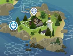 Deadgrass Isle Map