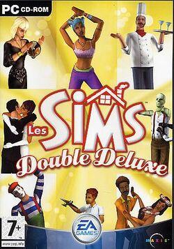 Jaquette Les Sims Double Deluxe