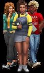 Les Sims 4 À la fac Render 01