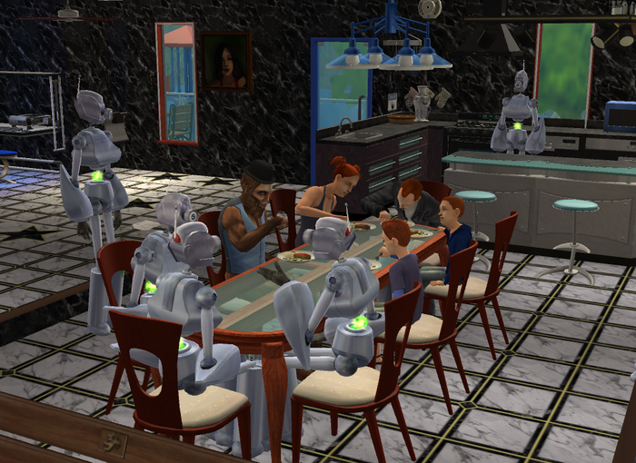 Dinner at the Newbies 2