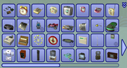 Electronics catalog in The Sims 2