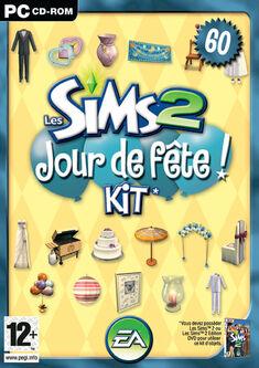 Jaquette Les Sims 2 Jour de fête