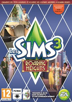 Packshot Les Sims 3 Roaring Heights
