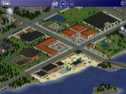 Stadsbuurt (The Sims)