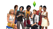 TS4 CAS Update Key Art.0.0