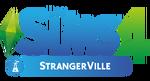 Logo Les Sims 4 StrangerVille