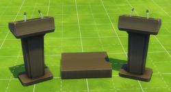 The Daring Debater Podium Set
