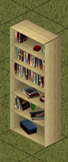 Ts1 cheap pine bookcase