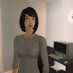 Amamiya Rei Headshot