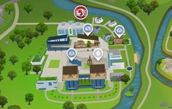 Foxbury Instituut Kaart