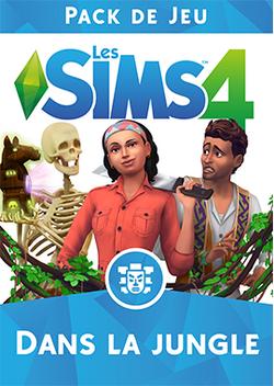 Packshot Les Sims 4 Dans la jungle