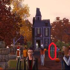 Presencia alienígena como se ve en el trailer en otoño.