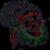 TS3 Island Paradise Skull Tattoo