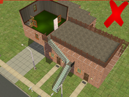 Ts2 custom apartment gg - incorrect multi-storey unit