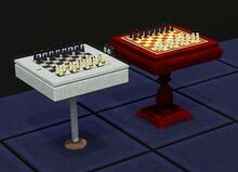 Default Chess Tables