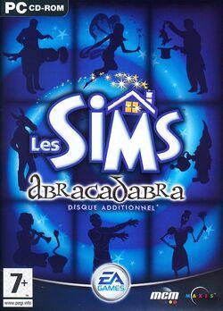 Jaquette Les Sims Abracadabra