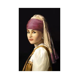 «<i>Девушка с жемчужной серёжкой</i>» Йоханнеса Вермеера