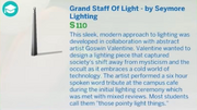Grand Staff Of Light - by Seymore Lighting