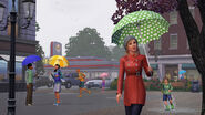 TS3 seasons spring rain