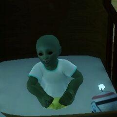 Infante alienígena.