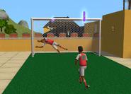 Harold and Jason Jocks playing soccer