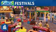 Les Sims 4 Vie Citadine - Les festivals