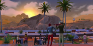 Oasis Springs sunset