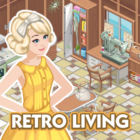 File:Sims Social - Promo Picture - Retro Living.png